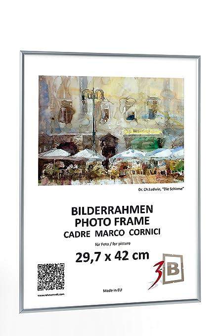3B Conjunto de 3 Piezas - ALU Foto de Aluminio Marcos de Fotos ...