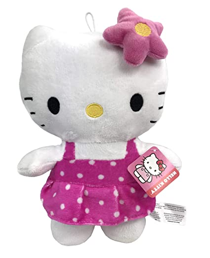 c0213a91a Amazon.com: Brand New Hello Kitty Ballerina with Bow Licensed Plush ...