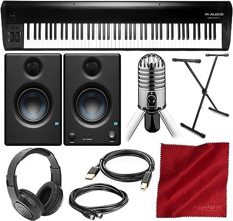 M-Audio Hammer 88 - Controlador de teclado USB/MIDI de 88 ...