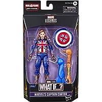 Marvel Legends Series 6-inch Scale Action Figure Toy Marvel's Captain Carter, Premium Design, 1 Figure, 1 Accessory, and…