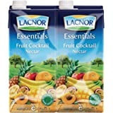 Lacnor Essentials Fruit Cocktail Nectar - Pack of 4 Pieces (4 x 1 Liter)