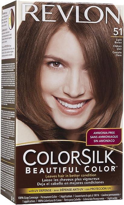 Revlon Colorsilk atractiva luz de color COLOR DE PELO, color ...