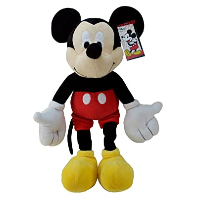 Jay Franco Disney Mickey Mouse Classic Plush Pillow Buddy Super Soft Polyester Microfiber: Home & Kitchen