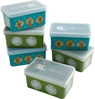 6-Pack The Pioneer Woman 17-oz. Assorted Rectangular Container