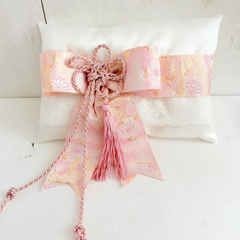 Amazon.com: Ring Pillow 【 EDO JAPAN 】 Japanese wedding kimono ...