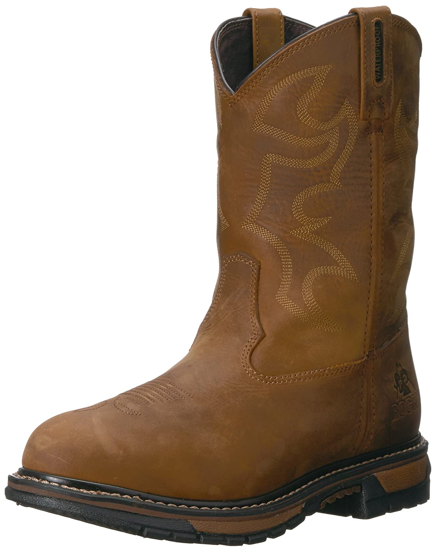 Rocky Women's RKYW082 Western Boot B00PHG8J9Q 6.5 B(M) US|Aztec Crazy Horse