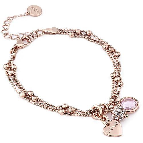 ffd7c0f31e36b bracciale donna gioielli Liujo Destini casual cod. LJ992  Amazon.it   Gioielli