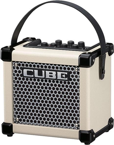 Roland Micro Cube GX- Amplificador para guitarra - blanco: Amazon ...