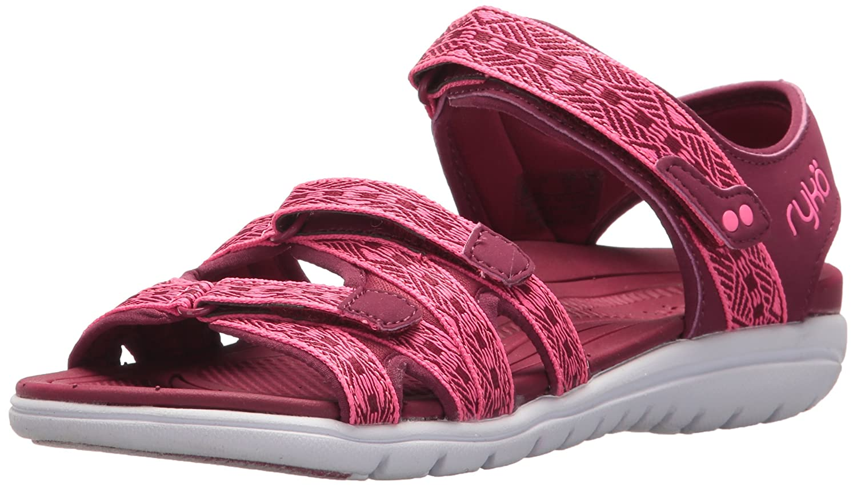 Ryka Women's Savannah Sandal B07577WJGY Pink 6.5 W US|Beet Red/Hyper Pink B07577WJGY c4b610