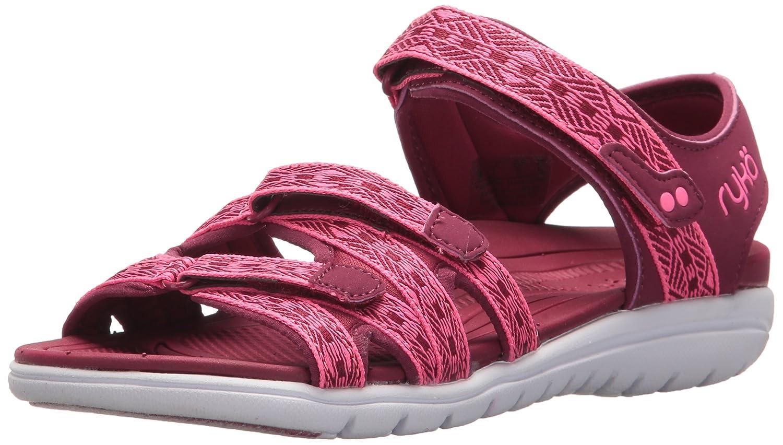 Ryka Women's Savannah Sandal B0757F4X8T 5 B(M) US|Beet Red/Hyper Pink