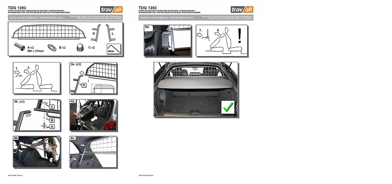 Travall Guard TDG1393 – Griglia Divisoria Specifica Specifica Specifica in Acciaio Dolce 8883fc