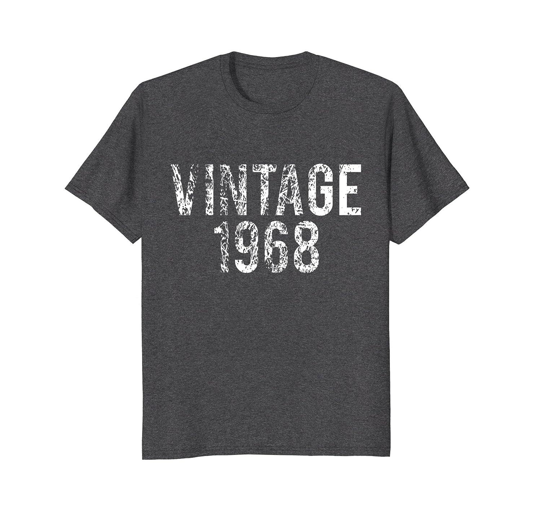 Vintage 1968 50th Birthday Shirt-alottee gift