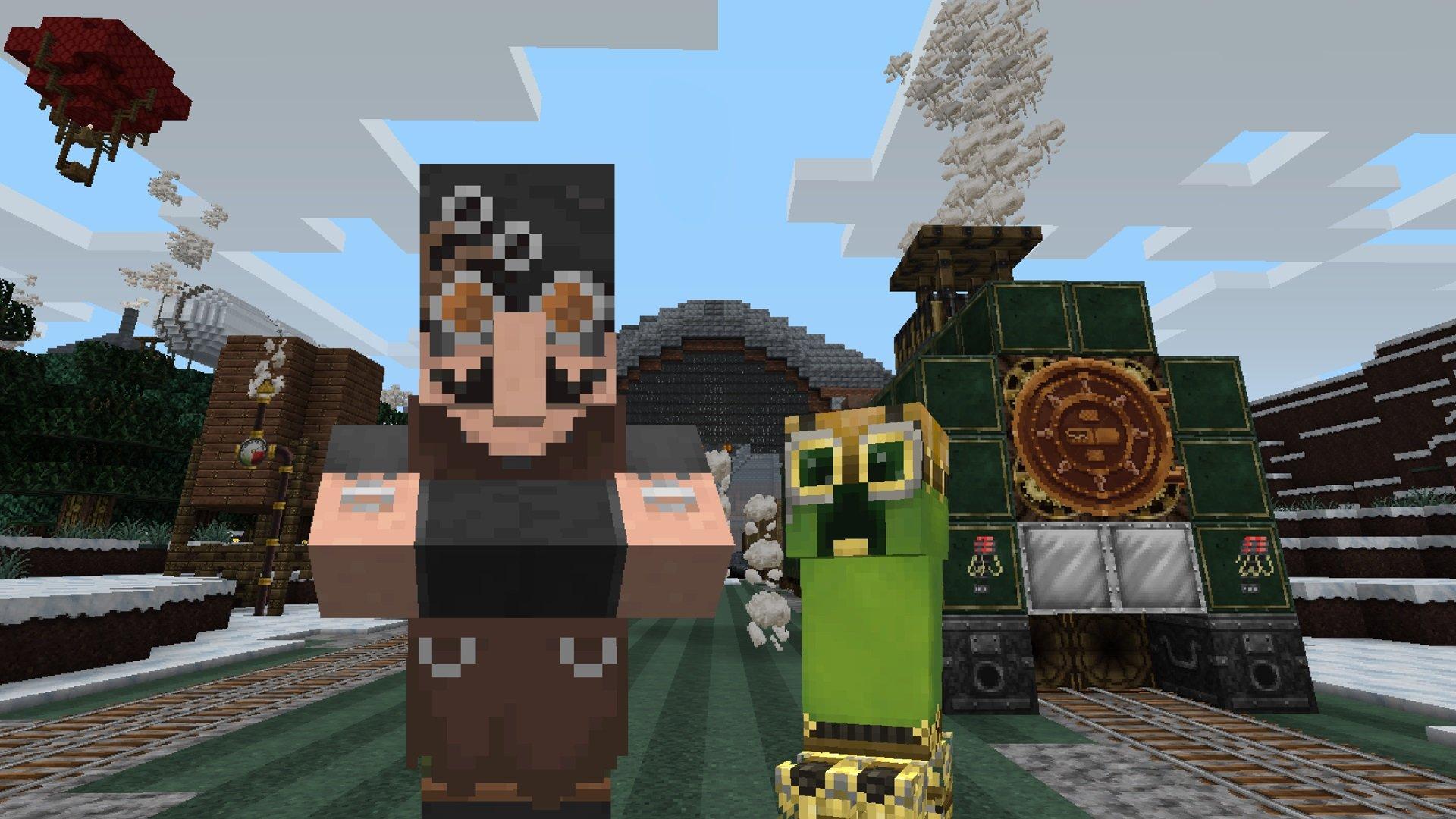 Amazon com: Minecraft: Steampunk Texture Pack - Nintendo Switch