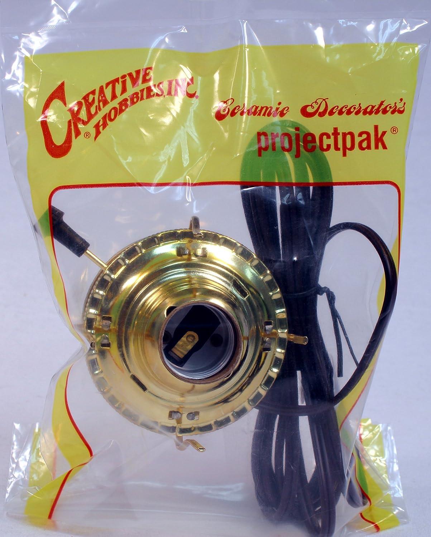 Creative Hobbies M999EM Mason Jar Electric Oil Lamp Burner DIY ...