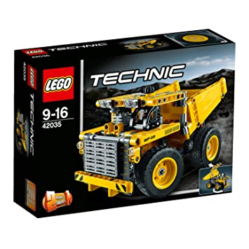 LEGO Technic 42035 Mining Truck Set: Amazon.co.uk: Toys & Games