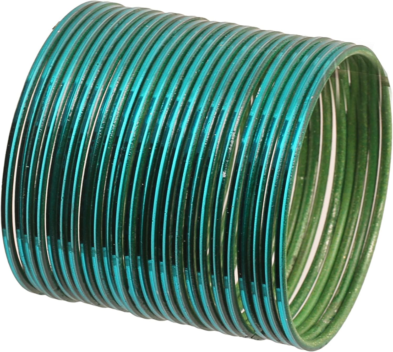joyer/ía de dise/ño delgado Touchstone Colecci/ón de brazaletes moderno relleno de mu/ñeca brazaletes de metal para mujer Conjunto de 2 bastante atractivo