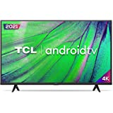 """Smart TV Android LED 50"""" 4K UHD TCL 50P615, 3 HDMI, 2 USB, Wi-Fi, Bluetooth e Controle Remoto com Comando por controle de Voz"""