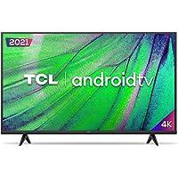 "Smart TV Android LED 50"" 4K UHD TCL 50P615, 3 HDMI, 2 USB, Wi-Fi, Bluetooth e Controle Remoto com Comando por controle…"