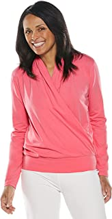 83454af4c0cf35 Coolibar UPF 50+ Women s Chillon Blouse - Sun Protective at Amazon ...