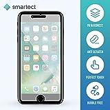 smartect® [2x] Panzerglas Displayschutzfolie für Apple iPhone 7 Plus aus gehärtetem Tempered Glass • Gorilla Glass mit Härtegrad 9h • 0,33mm Ultra-Dünn • Abgerundete Kanten (2.5D) • Anti Fingerabdruck