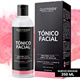 Tónico Facial con Agua de Rosas + Vitamina B5 + Niacinamida- Sin Fragancia-Sin Alcohol Etílico-97% Ingredientes Naturales - E