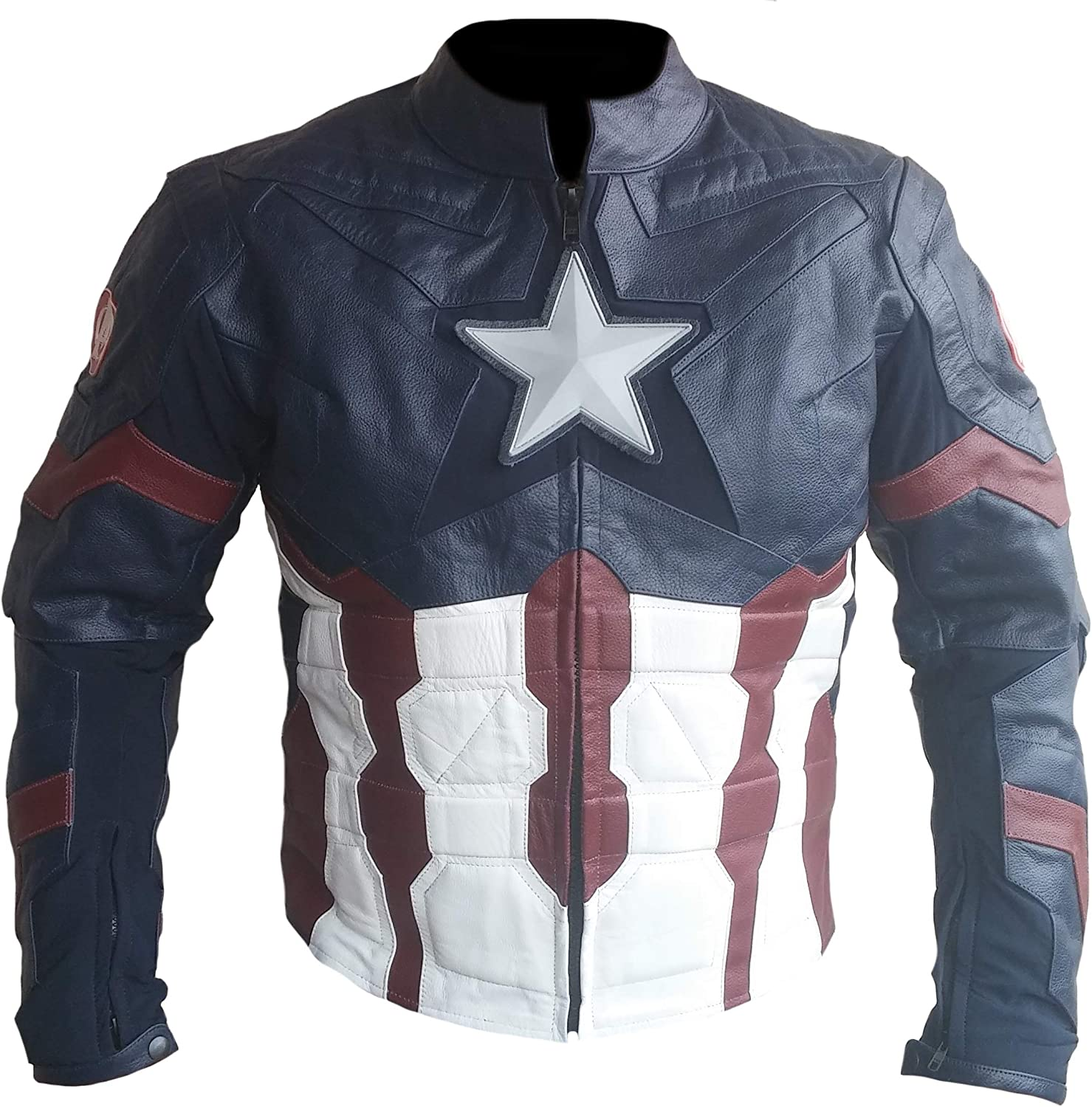 Stormwise Mens Fashion Captain Real Leather Ultron Jacket