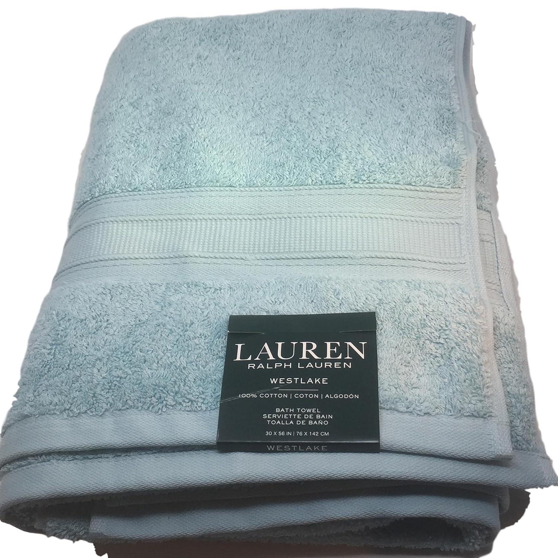 Ralph Lauren Lauren Westlake Toalla de baño luz Jade (Azul Verde) 30 x 56: Amazon.es: Hogar