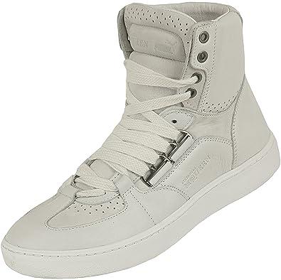 Puma Men's Alexander Mcqueen Amq Joust Mid Iv Lace-Up Flats White Size: 6.5