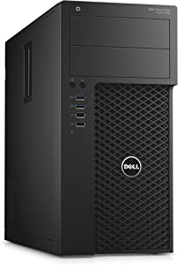 Dell GJD8G Precision 3620 Tower Workstation with Intel Core i7-6700 Processor, 8GB RAM, 1TB HDD, Black
