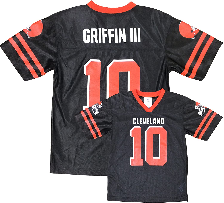 super popular 9c06d fe015 Amazon.com: Robert Griffin III Cleveland Browns Brown Home ...