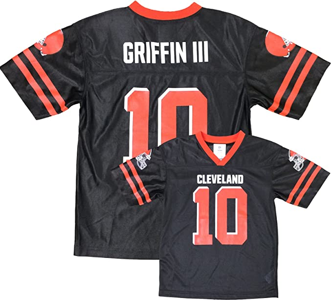 22c7aee1 Amazon.com: Robert Griffin III Cleveland Browns Brown Home Player ...