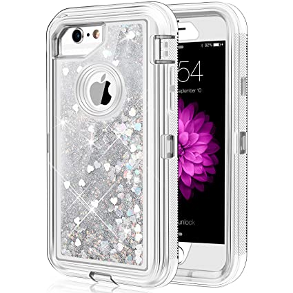Amazon.com: Caka - Carcasa para iPhone 6/6S/7/8, con ...