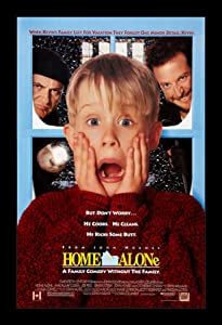 Wallspace Home Alone - 11x17 Framed Movie Poster