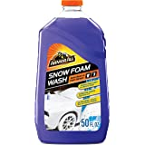 Armor All Car Wash Snow Foam Formula, Cleaning Concentrate for Cars, Truck, Motorcycle, Bottles, 50 Fl Oz, 19141