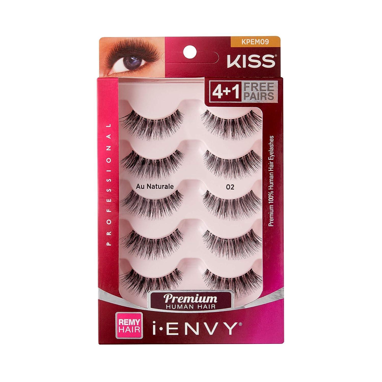 Amazon.com: Kiss Me Envy AU naturale 02 Value Pack 4 + 1 ...