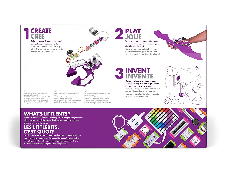 Amazon.com: littleBits Base Inventor Kit: Toys & Games