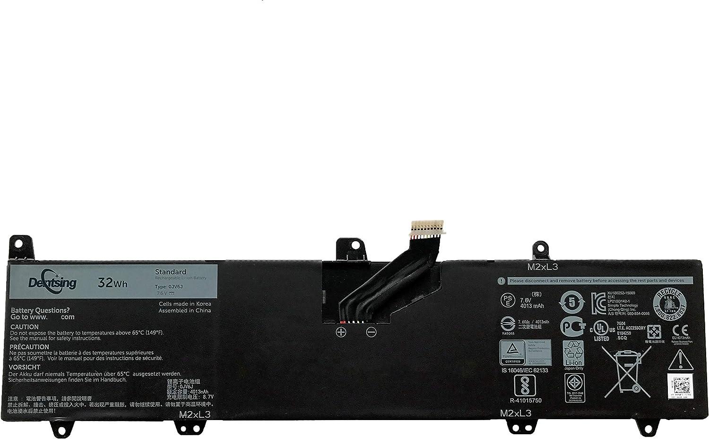 Dentsing 0JV6J OJV6J Battery Replace for Dell Inspiron 11 3162 3164 3168 3179 3180 7.6V 32Whr 8NWF3 PGYK5 4K8YH