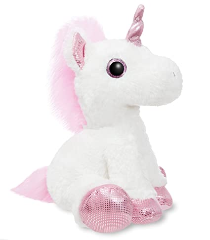 Aurora World 60854 Sparkle Tales Princess Unicorn 12in White