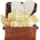Large Spa Gift Basket. Tropical Islands Clean Getaway Spa Basket with Bubble Bath, Beach Bath Bombs etc.Best Thank You, Get Well, Gift Baskets for Men, Women, Teens, & Friends Gifts