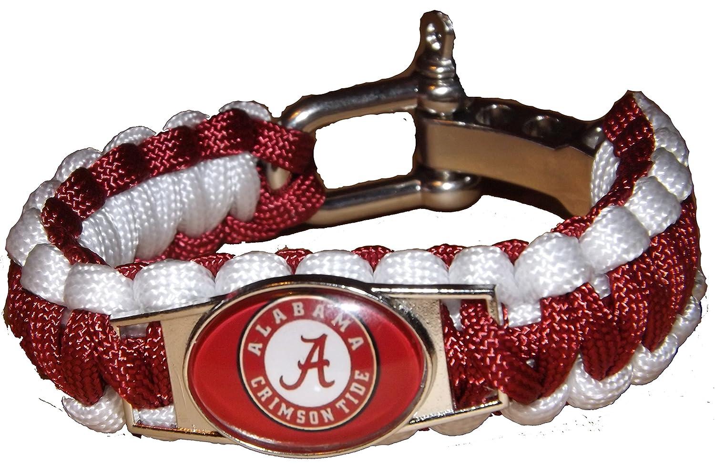 NCAA Paracord Bracelet B01M0HNF6T - NCAA Alabama Crimson Tide Bracelet Football Team Survival Paracord Bracelet B01M0HNF6T, パズル生活:34e4c4a9 --- harrow-unison.org.uk