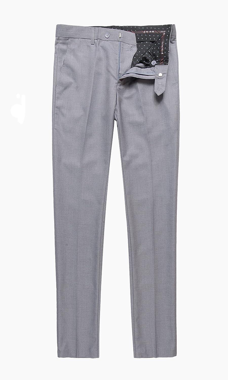 Herren Slim Fit 3 Pieces Anzug Blazer Anzugjacke