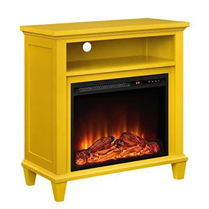 premium selection 71493 42f23 Ameriwood Home 5032496COM Ellington TV Stand Yellow