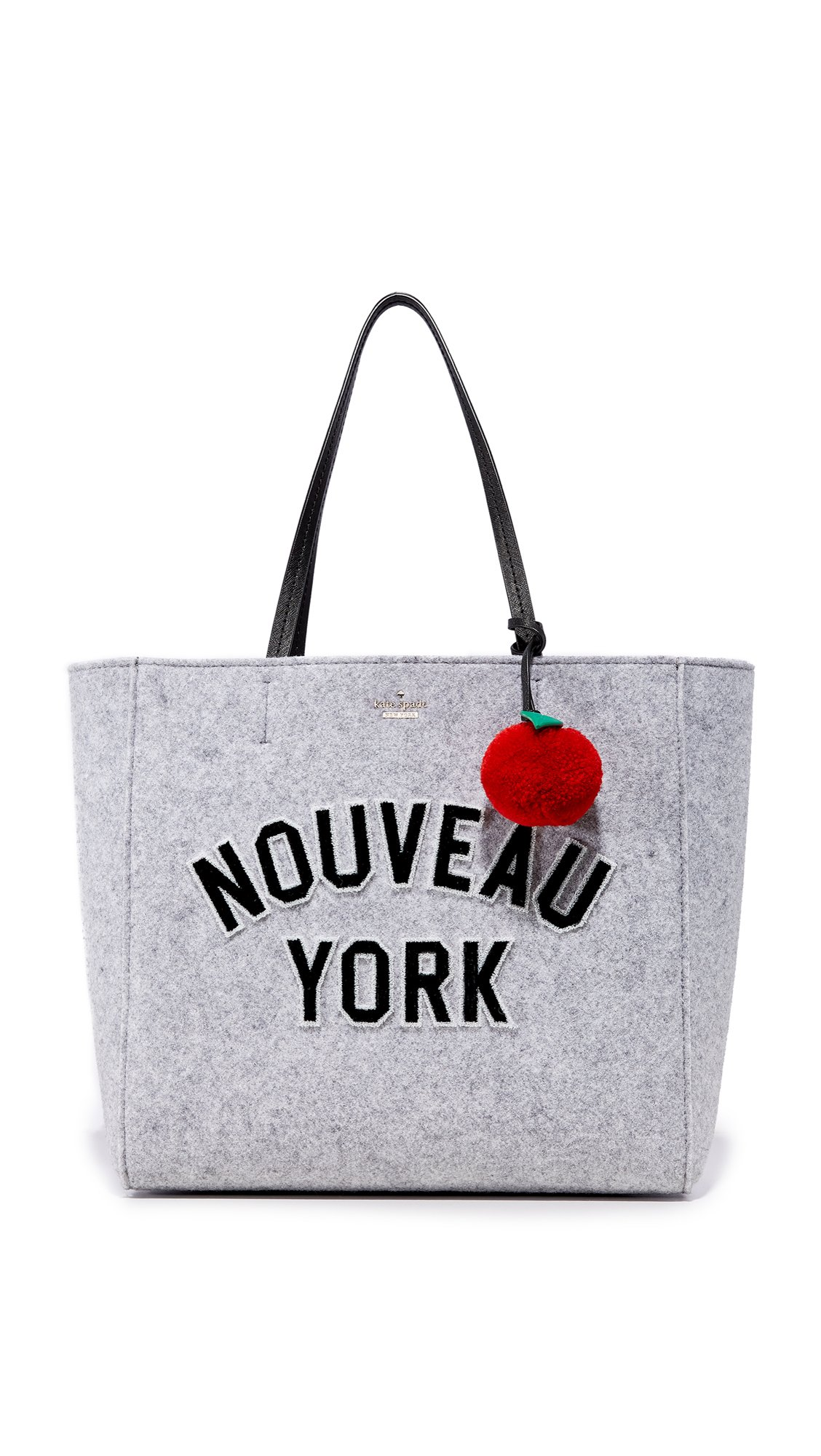 Kate Spade New York Women's New York Hallie Tote, Light Charcoal, One Size