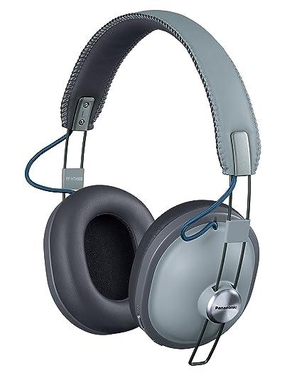 Panasonic RP-HTX80B-H - Auriculares estéreo inalámbricos (Gris)