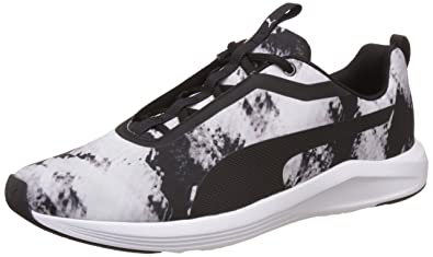 Puma Prowl Graphic Wn's, Chaussures de Fitness Femme, Blanc blanc noir 01, 40.5 EU