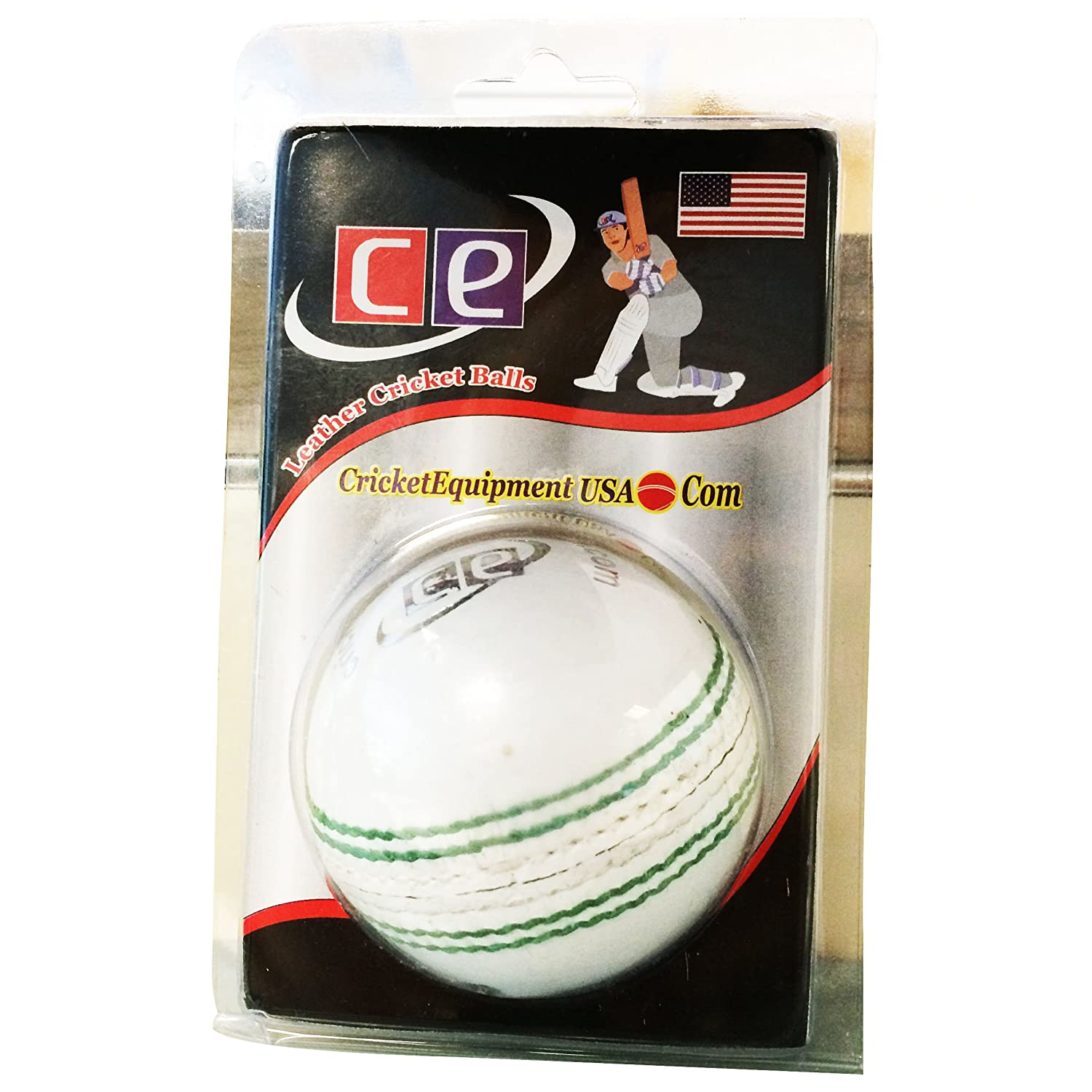 Ce T20 Daisy Cutter Leather Cricket Ball By Cricket Equipment Usa White