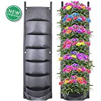 CNNIK Bolsas para Plantas, 7 Bolsillos Plantador Vertical