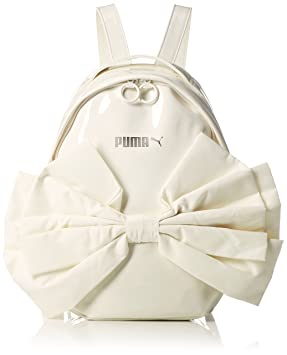 Puma Women s Prime Archive Backpack Bow, Whisper White, OSFA  Amazon ... 074eedcc88