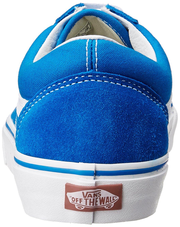 Vans Unisex Old Skool Zapatillas clásicas de skate Azul Imperial   Blanco  Verdadero a4d8fecc7dd