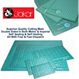 Jakar Green Self Healing Cutting Mat A1 Double Sided cm mm inch Imperial Metric Squared Quality Proffesional